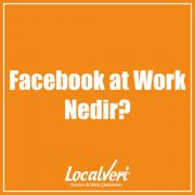 Facebook at Work Nedir?