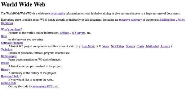 ilk website tasarımı