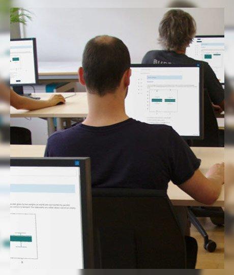online sınav ve test sistemi programı