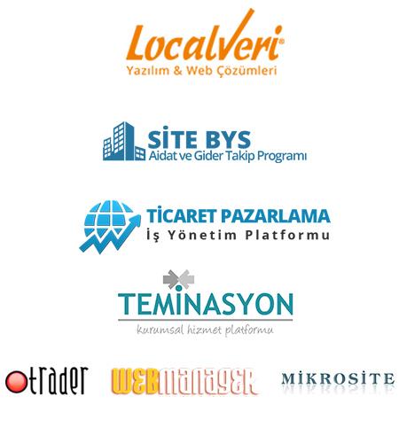 2000'den fazla proje ve çalışma gerçekleştiren Localveri, mobil uygulama, seo, kurumsal web tasarım, mobil uyumlu website, e-ticaret, crm