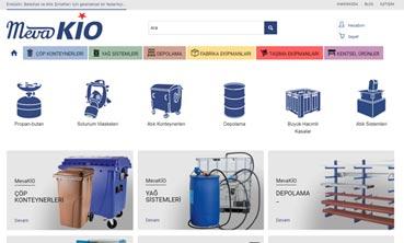 mevakio e-ticaret website tasarımı