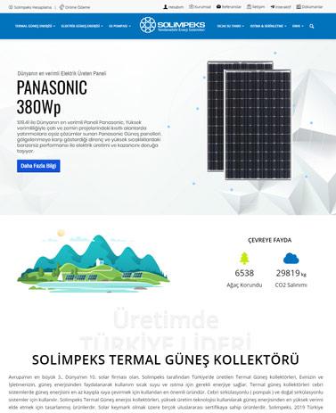 web tasarım izmir kurumsal web tasarım ajansı güneş enerjisi website tasarımı